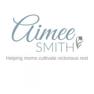 Helping moms cultivate victorious rest